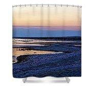 Sunset Salton Sea North Shower Curtain