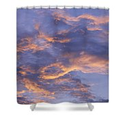 Sunset Sky Over Nipomo, California Shower Curtain