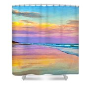 Sunset South Of Todos Santos Shower Curtain