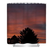 Sunset Spirit In The Sky Shower Curtain