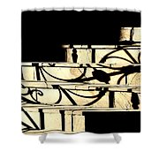 Sunset Steps Shower Curtain