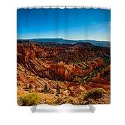 Sunset Sunrise Shower Curtain by Chad Dutson