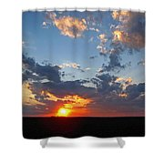 Sunset Supreem Shower Curtain