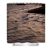 Sunset Time At Brighton Shower Curtain