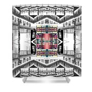 Sunset Two Gray Hill Shower Curtain