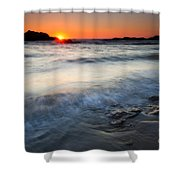 Sunset Uncovered Shower Curtain