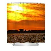 Sunset Viii Shower Curtain