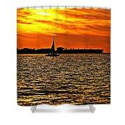 Sunset Xi Shower Curtain