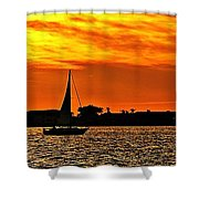 Sunset Xii Shower Curtain