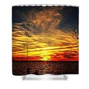 Sunset Xiii Shower Curtain