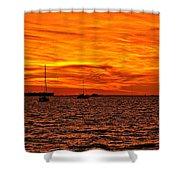 Sunset Xix Shower Curtain