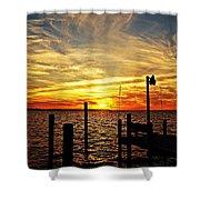 Sunset Xv Shower Curtain