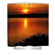 Sunset Xvi Shower Curtain