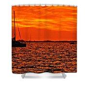 Sunset Xxii Shower Curtain