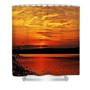 Sunset Xxiv Shower Curtain