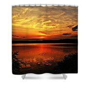 Sunset Xxv Shower Curtain