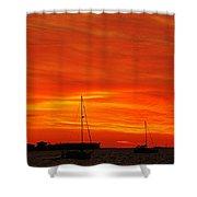 Sunset Xxvii Shower Curtain