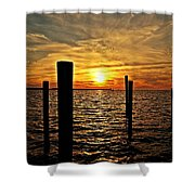 Sunset Xxviii Shower Curtain