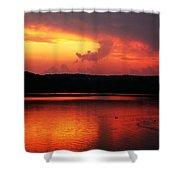 Sunset Xxxii Shower Curtain