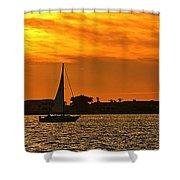 Sunset Xxxiii Shower Curtain