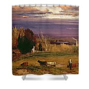 Sunshine After Storm Or Sunset Shower Curtain