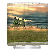 Sunshine On A Cloudy Day Shower Curtain