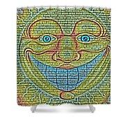 Sunshine Smile Art Shower Curtain