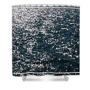 Sunshine Sparkling On Lake Erie Shower Curtain