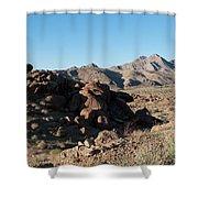 Sunspot Hill  Shower Curtain