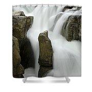 Sunwapta Falls 2 Shower Curtain