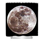 Super Moon 2012 Shower Curtain