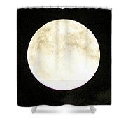 Super Moon I Shower Curtain
