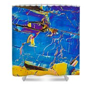 Superconductor Crystal Shower Curtain