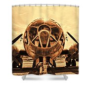 Superfortress Shower Curtain