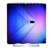 Supersonic Bullet Shower Curtain