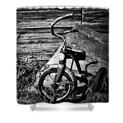 Supper Time Decline  Shower Curtain