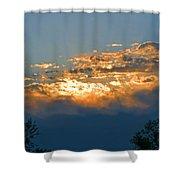 Supreem Sunset I Shower Curtain