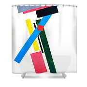 Suprematism Shower Curtain