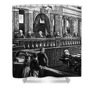 Supreme Court, 1888 Shower Curtain