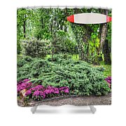 Surf Table Shower Curtain