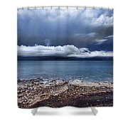 Surface Clouds Shower Curtain