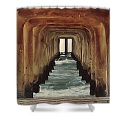 Surfer's Labyrinth  Shower Curtain