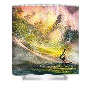 Surfscape 02 Shower Curtain