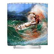 Surfscape 03 Shower Curtain