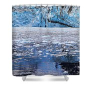 Surprise Glacier Shower Curtain