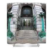 Surrogate's Courthouse I Shower Curtain