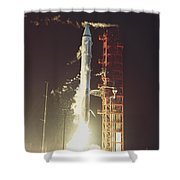 Surveyor 3 Launch Shower Curtain