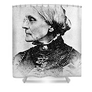 Susan B. Anthony, American Civil Rights Shower Curtain