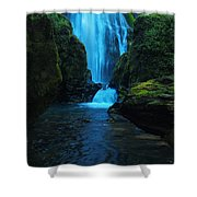 Susan Creek Falls Shower Curtain