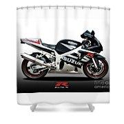 Suzuki Gsx-r Shower Curtain